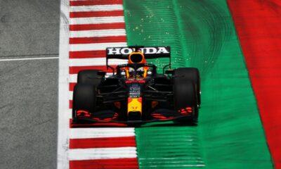 Dominacja Verstappena w treningach przed GP Styrii 2021