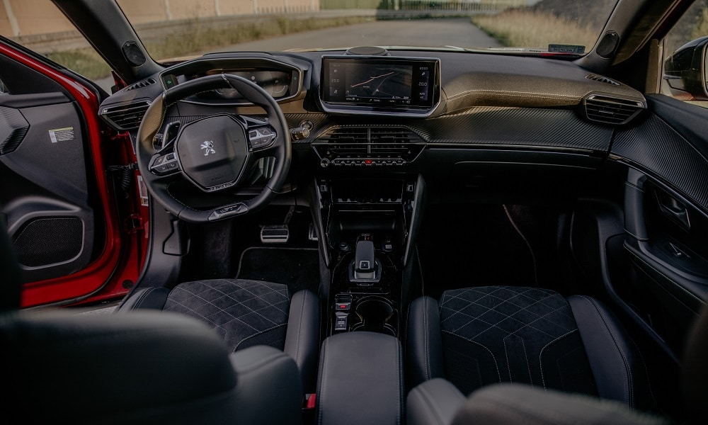 Peugeot 2008 deska rozdzielcza