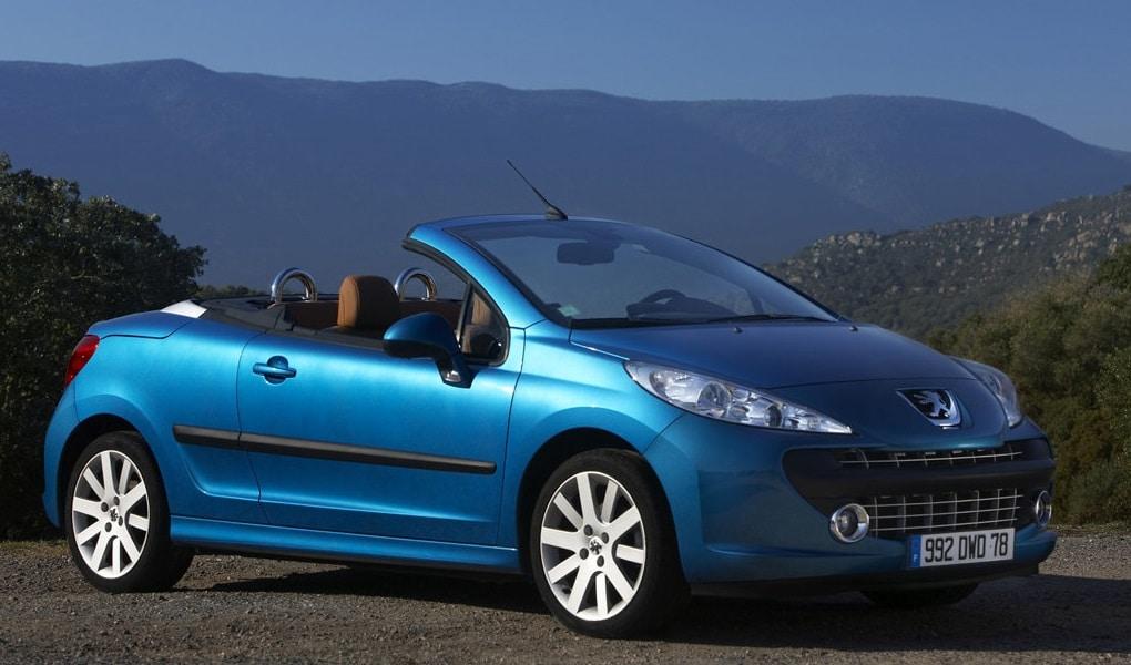 Peugeot 207 CC (kabriolety do 20 tysięcy)