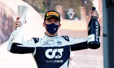 Pierre Gasly podium f1 2021 AlphaTauri