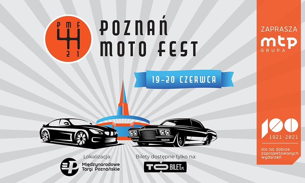 Poznań Moto Fest 2021 zapowiedź targów mtp