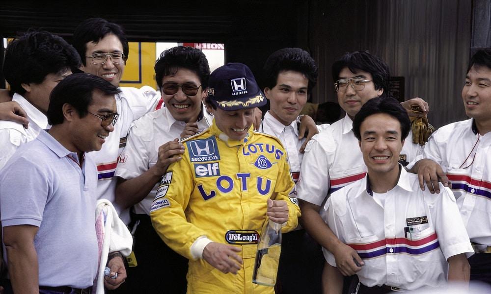 Satoru Nakajima 1987