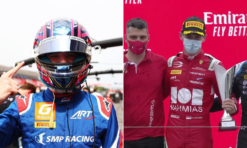 Smolyar i Leclerc Paul Ricard F3 2021