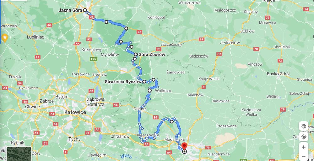 Najpiękniejsze trasy w Polsce - Szlakiem Orlich Gniazd