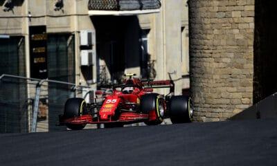 sainz opinia baku 2021 treningi forma Ferrari
