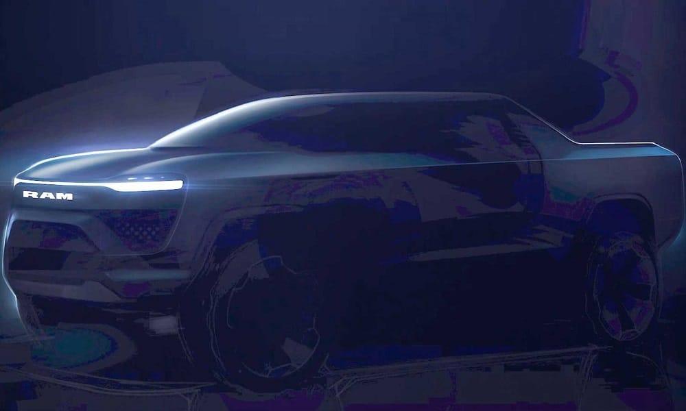 Ram 1500 BEV teaser