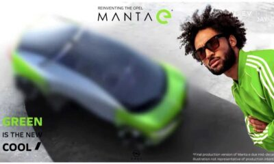 Opel Manta e teaser (Elektryfikacja Stellantisa)