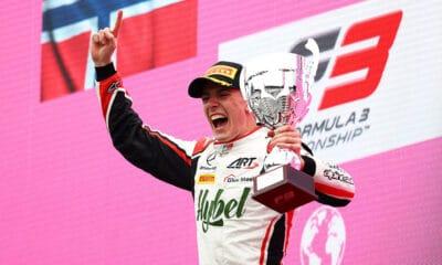 Frederik Vesti ART GP F3 Red Bull Ring wyścig główny 2021