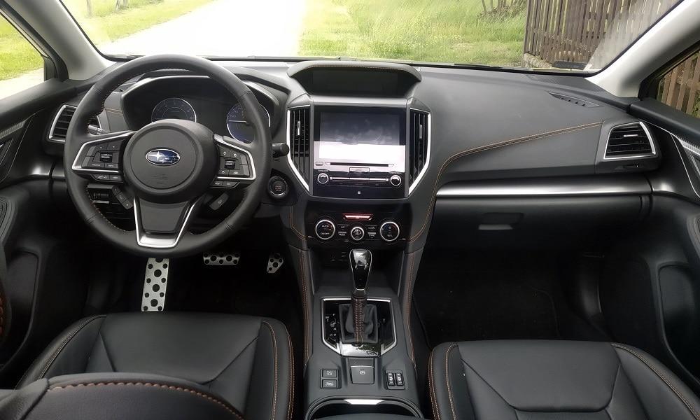 Wnętrze - Subaru XV