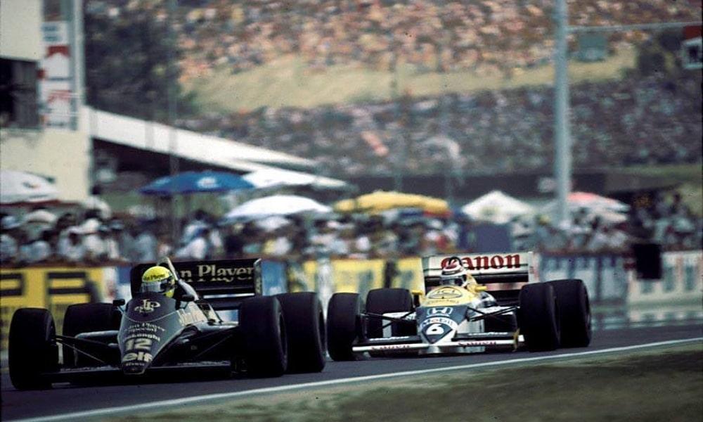 Piquet vs Senna - Pierwsze GP Węgier