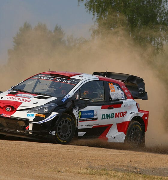 Kalle Rovanpera Toyota WRC 2021 Rajd Estonii