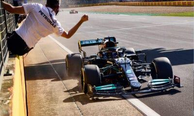 Lewis Hamilton GP Wielkiej Brytanii 2021 f1 triumf