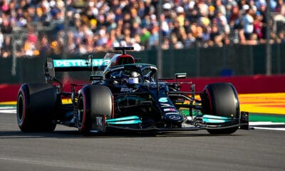 Lewis Hamilton Mercedes GP Wielkiej Brytanii 2021 PP