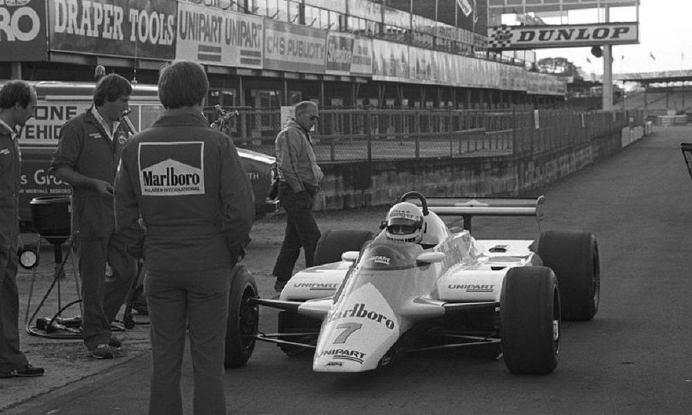 Tommy Byrne 1982 test