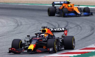 Verstappen i Norris GP Austrii 2021 f1