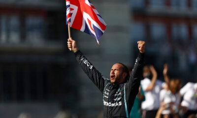Hamilton wygrana Silverstone 2021 f1