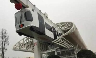 latający pociąg