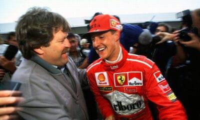 Haug i Schumacher lata 90 f1