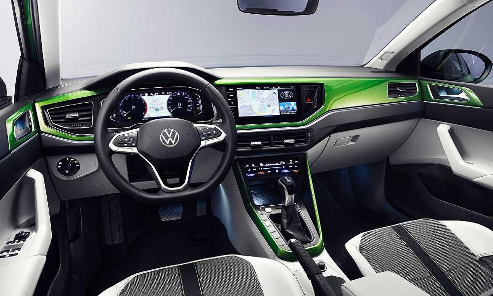 Wnętrze nowego Volkswagena