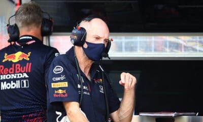 Adrian Newey GP Węgier 2021 Red Bull