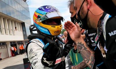 Alonso ALpine GP Węgier 2021