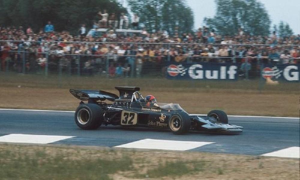 Emerson Fittipaldi GP Belgii 1972