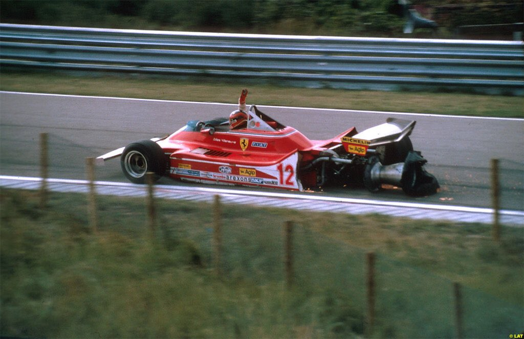 Gilles Villeneuve GP Holandii 1979