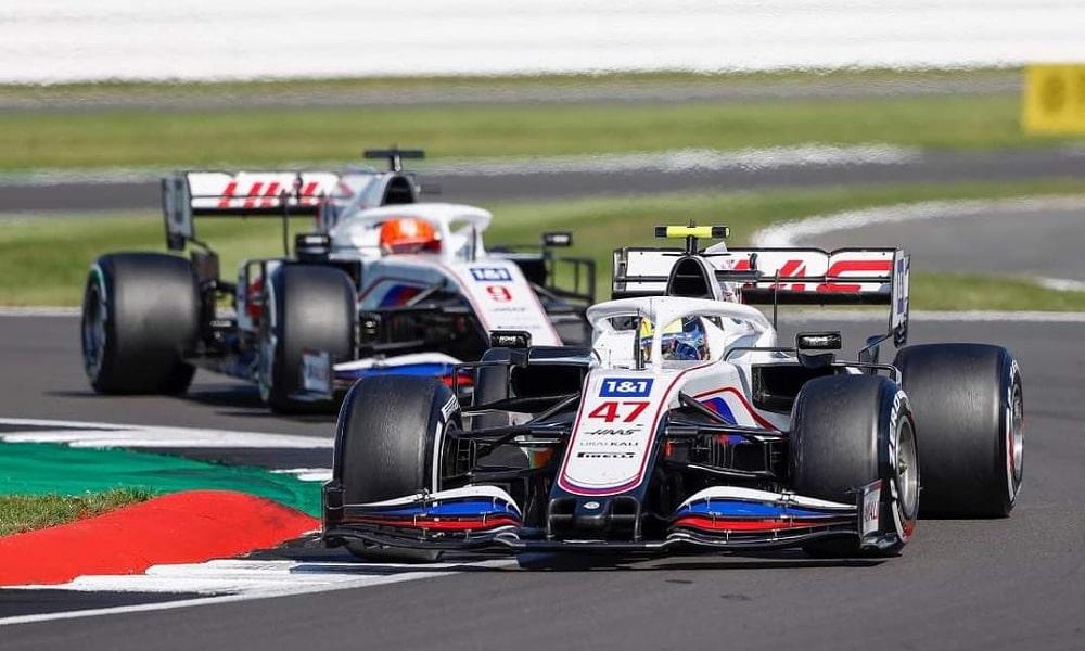 Haas Mick Schumacher Nikita Mazepin Silverstone