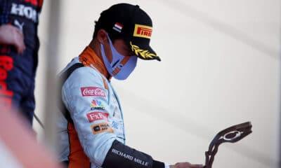 Lando Norris podium Monako 2021 f1