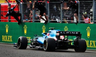 Ocon Alpine pierwsze zwycięstwo w F1 2021 GP Węgier