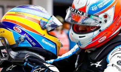 Ocon o Alonso ocena współpraca 2021 f1