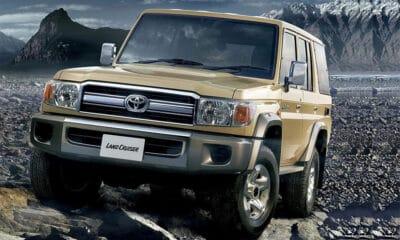 Toyota Land Cruiser serii 70