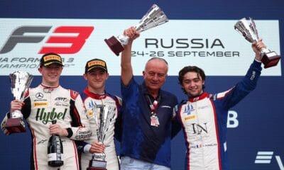 Formula 3 Championship - Round 7:Sochi - Race 2