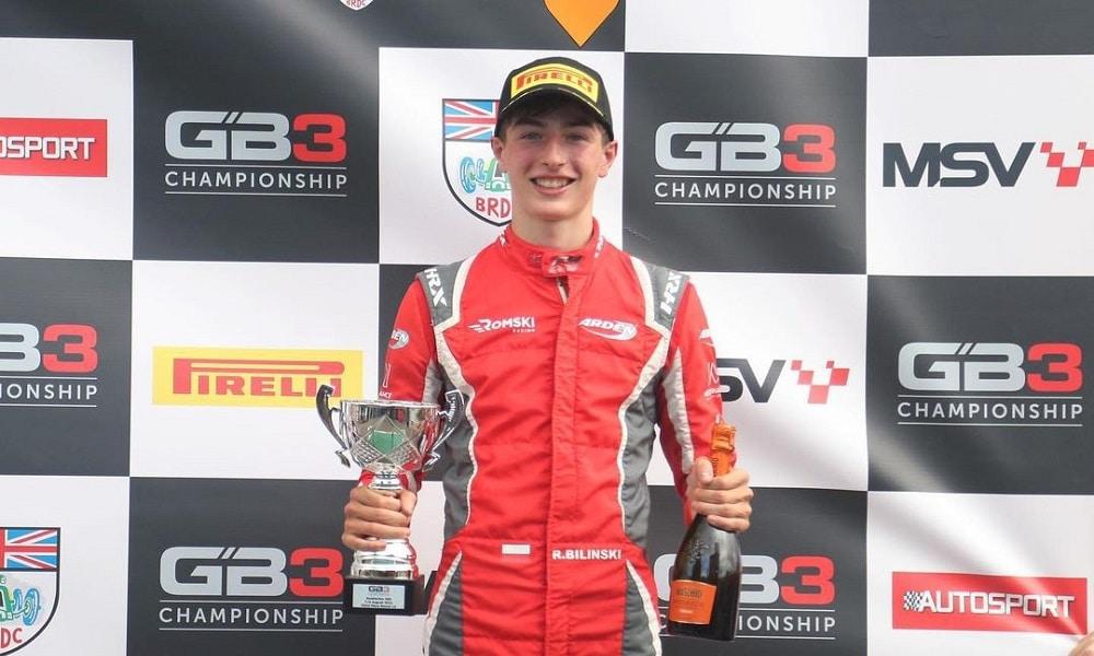 Klasyfikacja kierowców GB3 Championship 2021