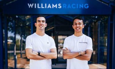 Alexander Albon i Nicholas Latifi 2022 Williams