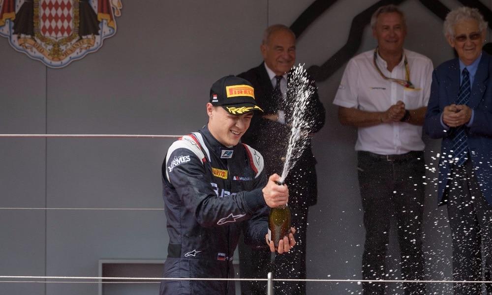 F2 podium 2017 Monako