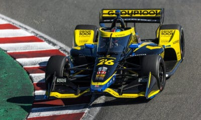 Andretti Autosport Colton Herta Laguna Seca IndyCar 2021