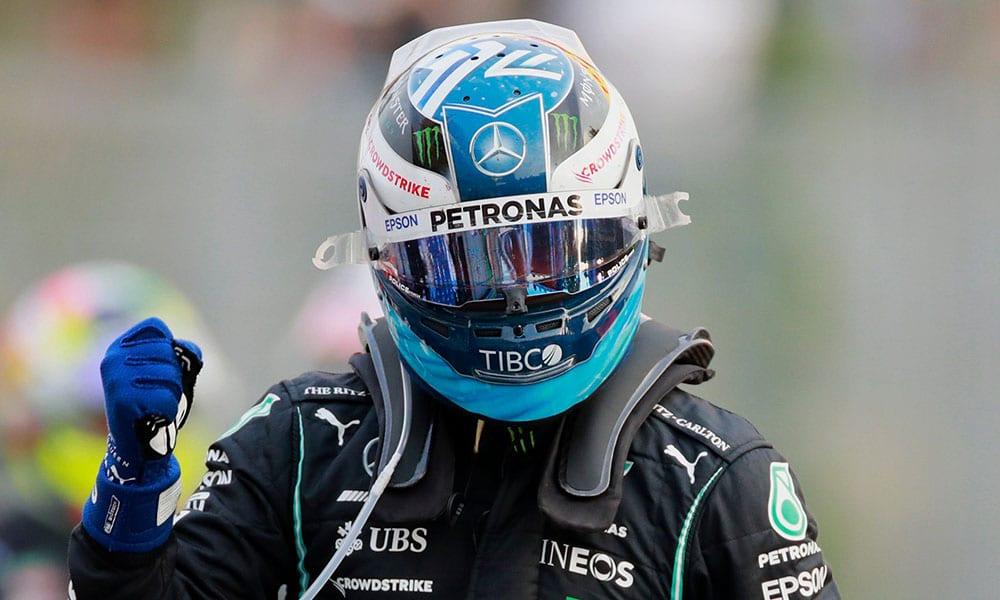 Bottas GP Włoch kwalifiakcje 2021