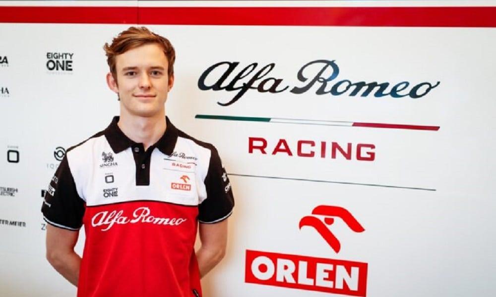 Callum Ilott Alfa Romeo