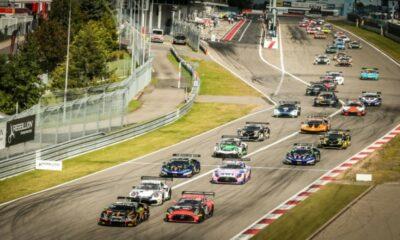 GTWCh 3h Nurburgring Start Lamborghini