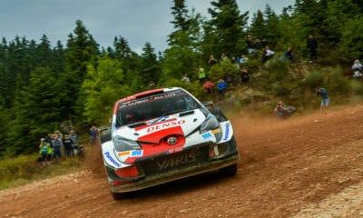 Kale Rovanpera 2021 Rajd Akropolu WRC