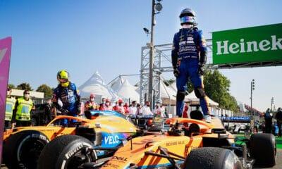 McLaren Ricciardo Norris GP Młoch 2021 f1