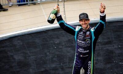 Romain Grosjen IndyCar podium
