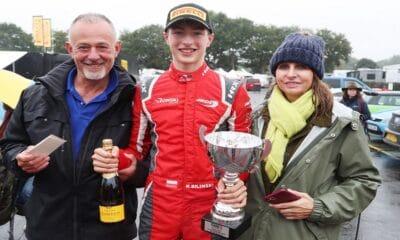 Roman Bilinski Oulton Park wygrana