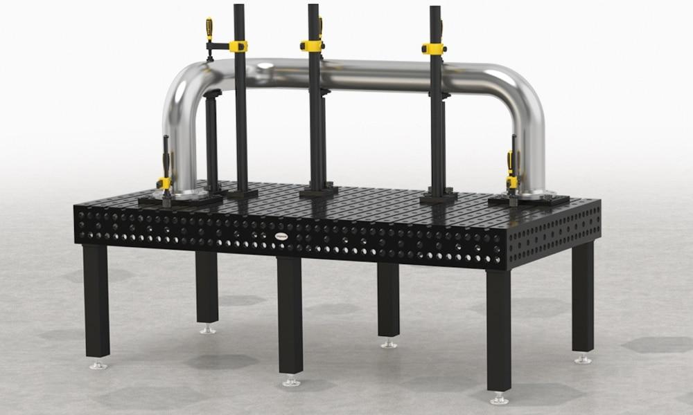 stoły spawalnicze w branży motoryzacyjnej