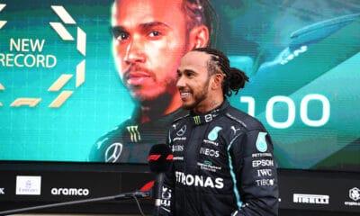Hamilton GP Rosji 100 triumfow f1