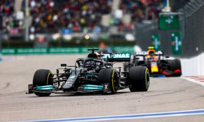 Hamilton GP Rosji 2021 Mercedes