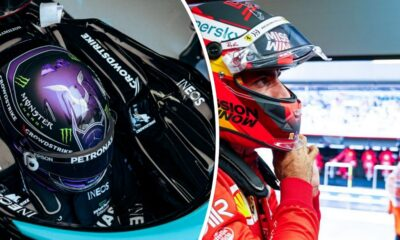 Lewis Hamilton Carlos Sainz GP Turcji