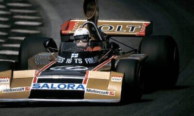 Leo Kunninen pierwszy Fin w F1 ostatni z odsłoniętą twarzą