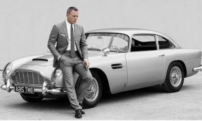 Najciekawsze samochody Jamesa Bonda - Aston Martin DB5